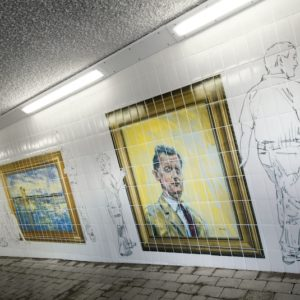Graphic Tiling, Glasgow School of Art