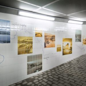 Graphic Underpass, Images of the Clyde