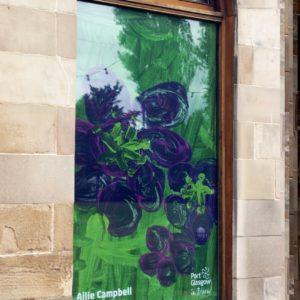 Port Glasgow library windows