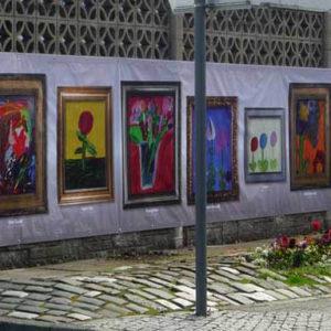 Showcasing the children's work