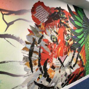 Bringing the mural in