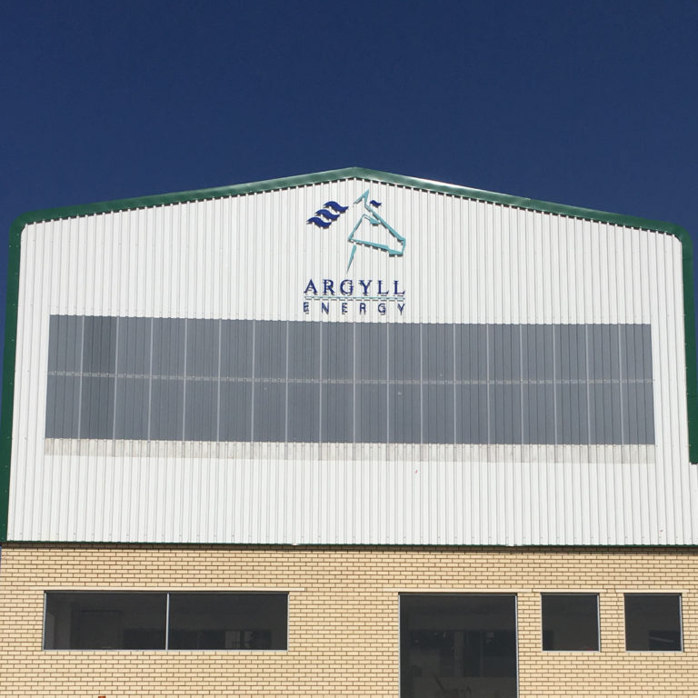 We created a series of signs for Argyll Energy and shipped them to their South African facility