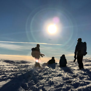 A stunning early winter Corbett