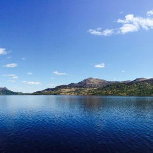 Loch Katrine, the source of Glasgow's drinking water