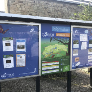 Updated notice boards